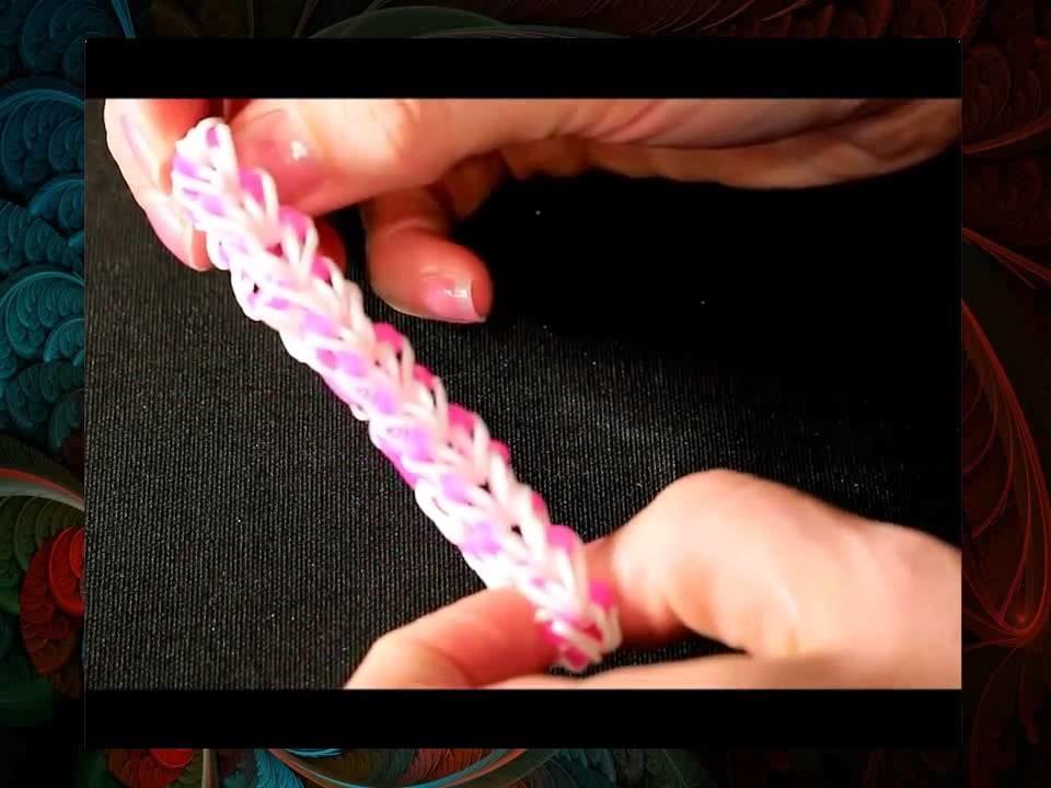 Loom Bands Rainbow Loom Loom Bandz Armband Anleitung deutsch