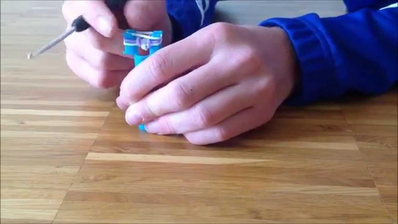 Einfaches Rainbow Loom Armband