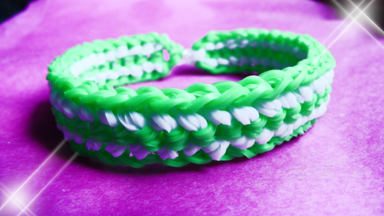 Schlangen Armband - Dr. Loom - © Woolpedia