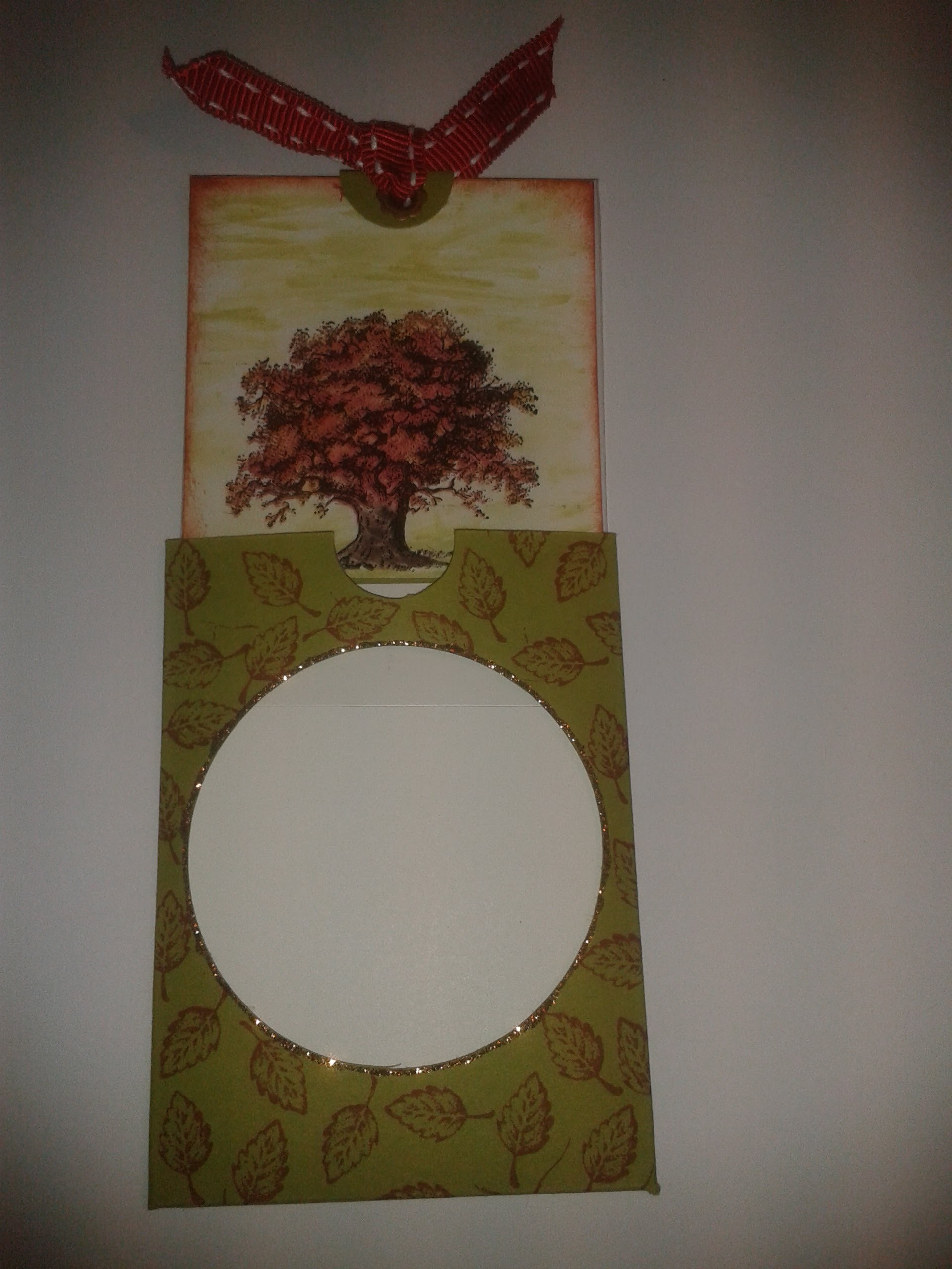 Autumn Card - Magic Slider Card