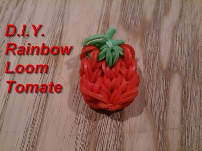 *** D.I.Y. Rainbow Loom Bands - Tomate -mit Tini ***