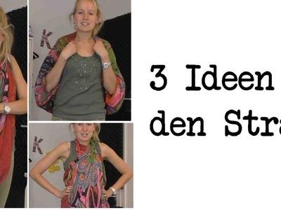 DIY Kimono, Tasche und Kleid. 3 Ideen für den Strand - fertig in 1 Minute