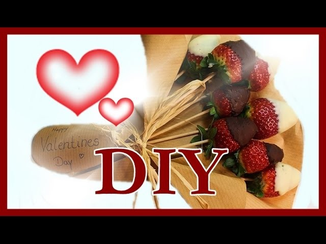 DIY: SCHOKOFRÜCHTE | Valentine's Day Treat.Gift