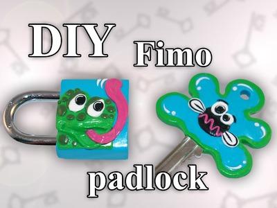 FIMO Schloss (Frosch): Polymer Padlock - Tutorial [HD.DE] (EN-Sub)