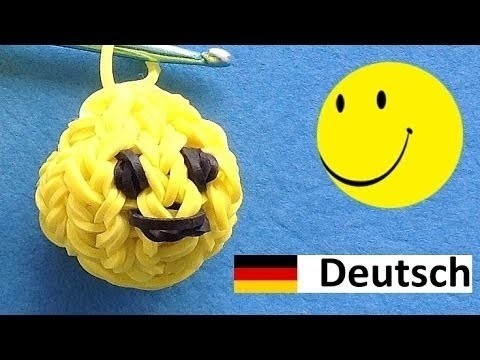 Loom Bandz Anleitung Deutsch Smiley Rainbow Loom Deutsch
