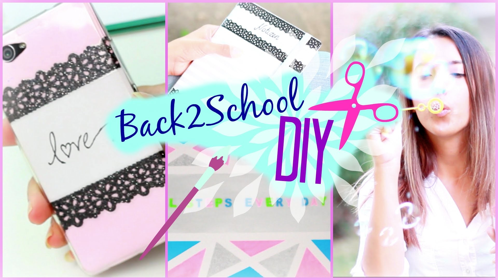 5 Back to School DIYs I Ordnen, Notieren & co I #B2SConSofia