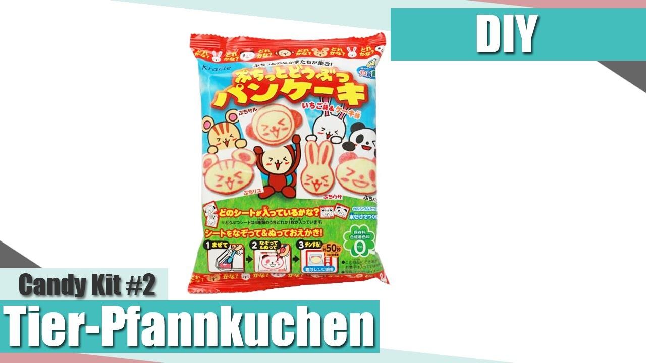 [DIY] Kracie Puchitto Tier-Pfannkuchen Candy Kit | Anielas Fimo