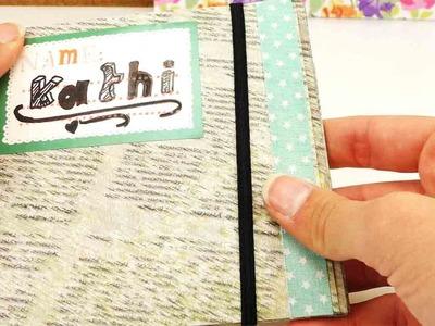 DIY School Supplies | Mini Mappe für Sticker oder eine CD | Geschenk & Gutscheinhülle