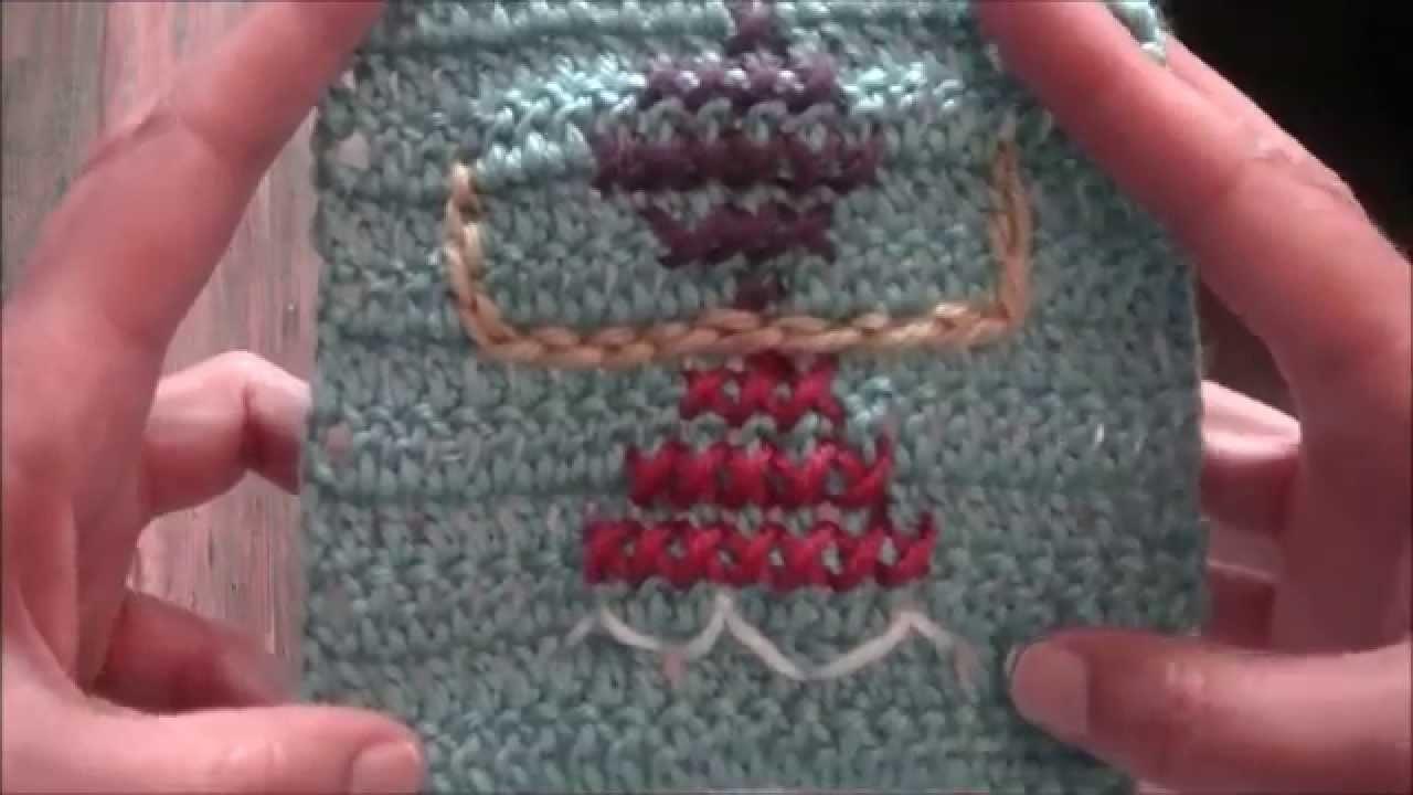 Ihr 79. Quadrat für ihre Patchwork Decke Häkeln