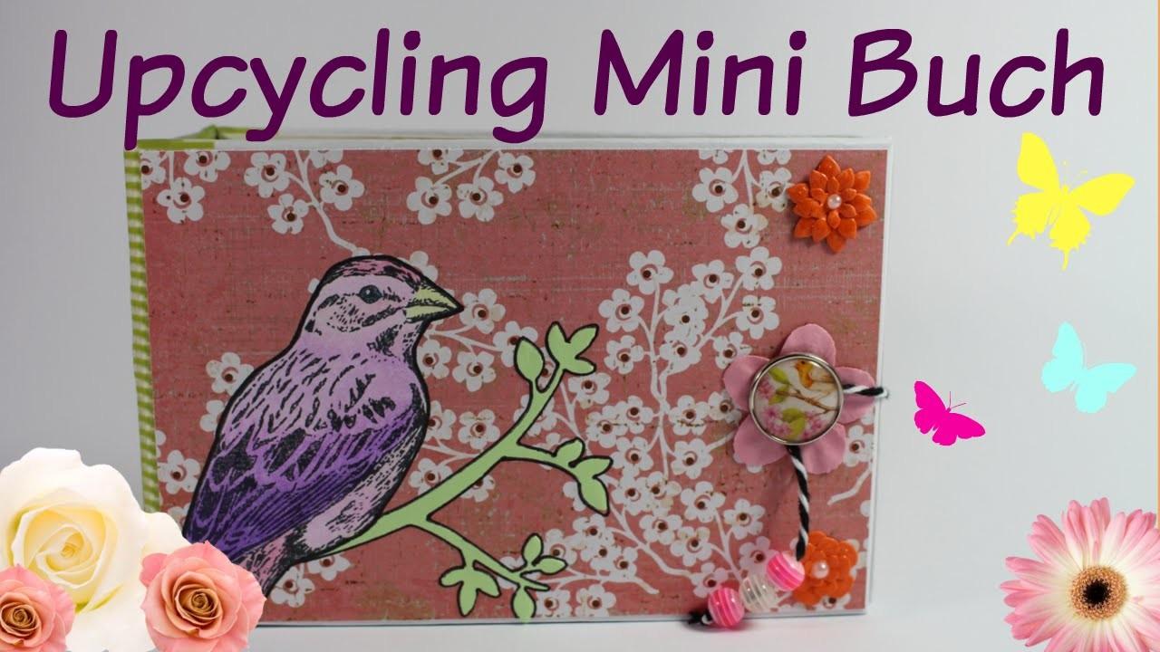 [KoOp Craft] Upcycling Mini Buch | April Projekt