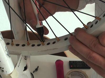 SI BMX Werkstatt - Zentrieren