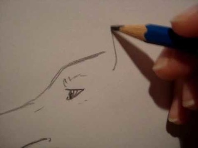 Wie ich einen Wolf zeichne (comic style)