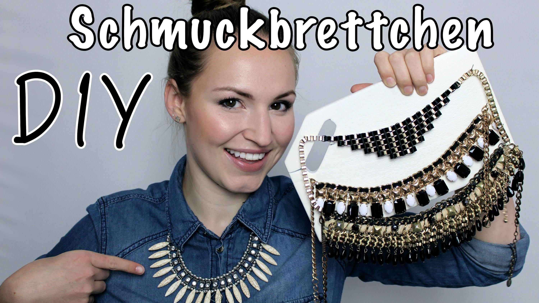 DIY Schmuckbrettchen - Aufbewahrung - DIY   Lena's Lifestyle