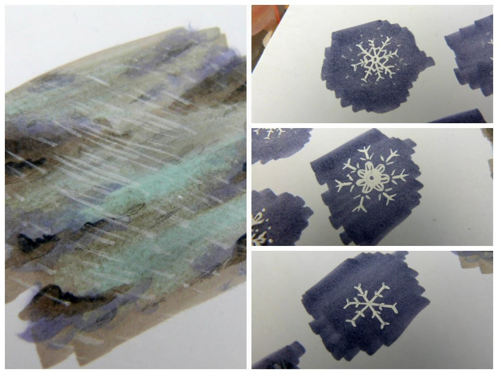 EASY TUTORIAL: How to draw snowflakes! [german, deutsch] | Chizakura Art