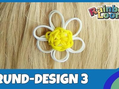 HairLoom Grund-Design 3  - deutsche Anleitung von Rainbow Loom