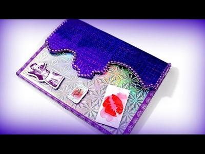 Disney Violetta 3 Tagebuch - Wie bastelt man ein Violetta Tagebuch - Basteln Anleitung deutsch
