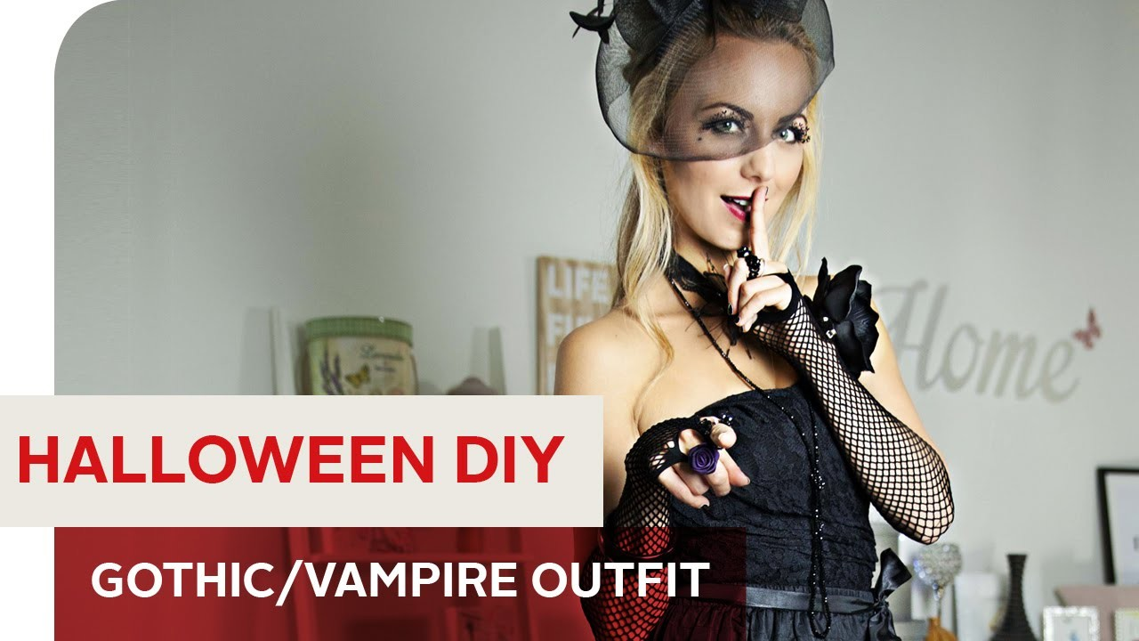 Mein DIY HALLOWEEN COSTUME: Gothic.Vampire Outfit by Syra – OTTO