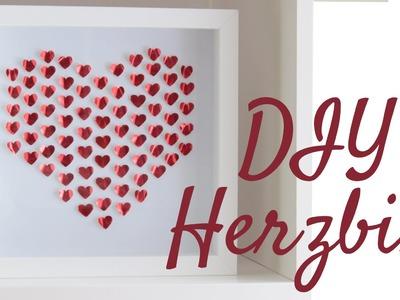 [DIY] 3D Herz Bild | Valentinstag | Anielas Fimo