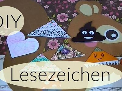 DIY Lesezeichen I Back to School I DIY Bookmarks I Deutsch - Finola 2015