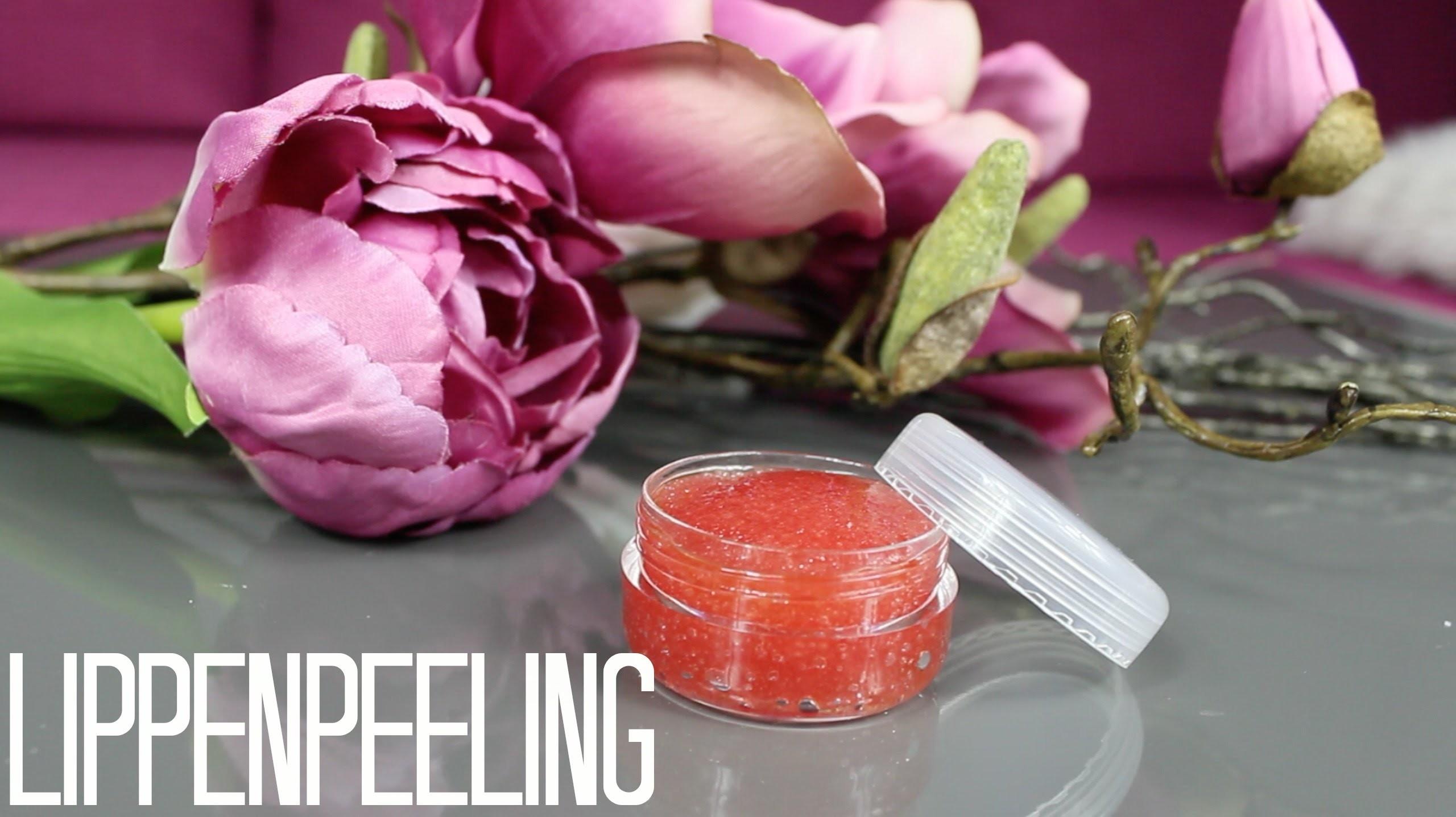 DIY Lippenpeeling. Lip Scrub ♡ | vivianereinhardt