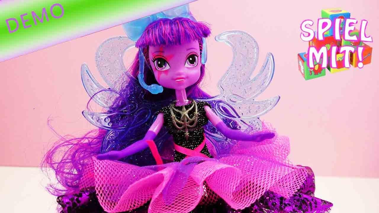 Equestria girls rainbow rocks deutsch - My Little Pony Puppe unboxing und demo