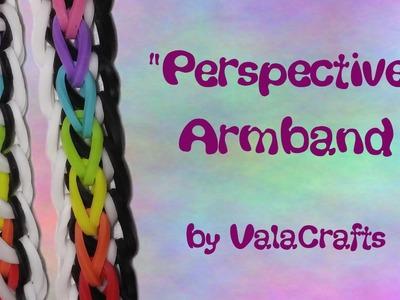 NEU Rainbow Loom Perspective Armband (Original Design)