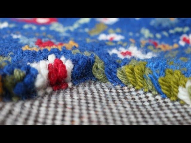 Teppich knüpfen wie früher: Bastelecke