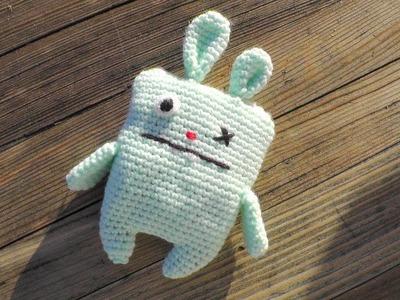 Ugly Bunny Amigurumi Häkelanleitung [Fortgeschrittene] Linkshänder Schachenmayr Baby Super Soft