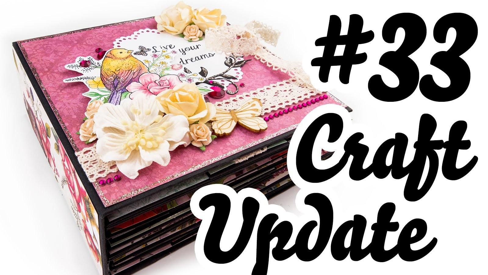 "Craft Update #33 | Mini-Album ""Bohemian"""