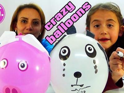 Crazy Balloons - wir basteln lustige Tiere mit Luftballons - Kanal für Kinder