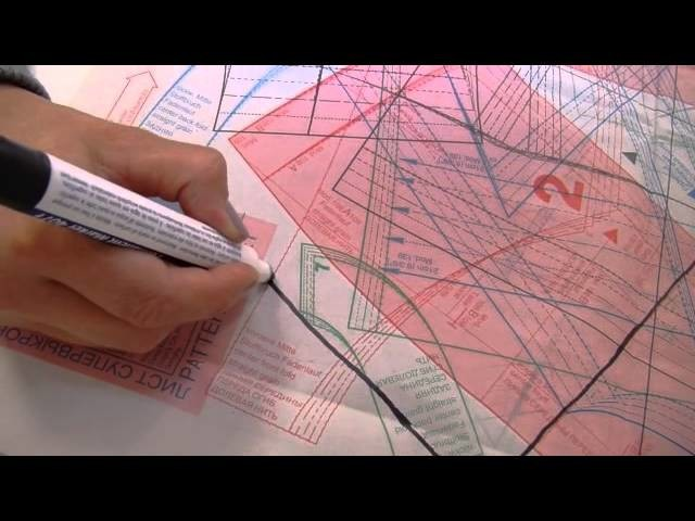 """DaWanda Nähschule: """"Wie kopiere ich ein Schnittmuster auf Papier?"""""""