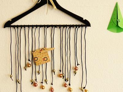 Deko für Weihnachten | Als Fensterdeko, für Notizen & Vorhang | Mobile mit Weihnachtskugeln