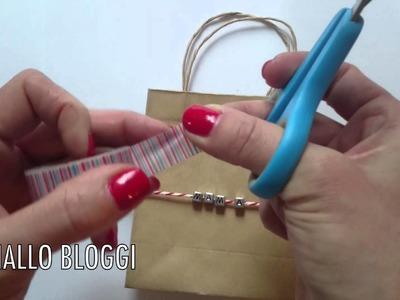 DIY Christmas Wrapping-Ideas-Kidscraft-Basteln mit Kindern-Geschenktüten-Weihnachten-Ideen