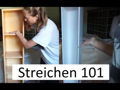 DIY: Holzregal weiß streichen I caynouch;
