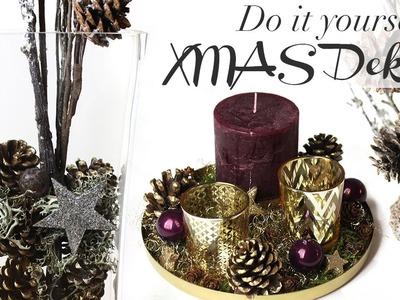 DIY - Leichte Weihnachtsdeko basteln