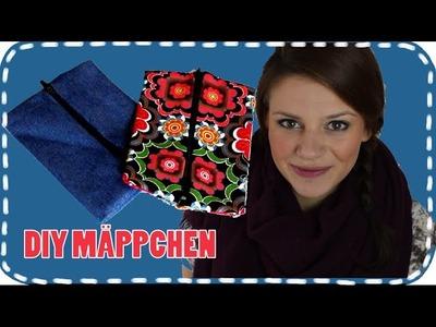 DIY Mäppchen-Tasche-ohne nähen