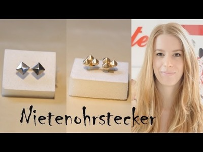 DIY Nietenohrstecker - kekulo