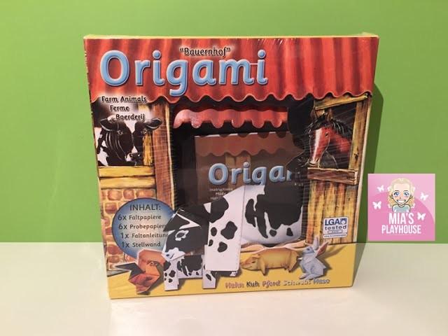 DIY ORIGAMI Bauernhof Tiere - Farm Animals crafts - auf Kinderkanal