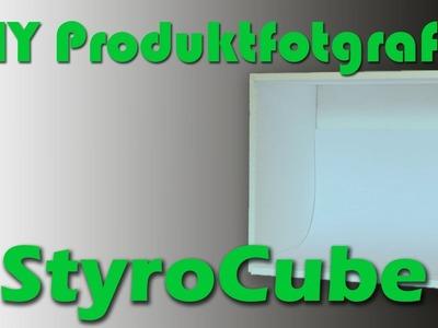 DIY Produktfotografie: Der StyroCube - Einen Lichtwürfel selbst bauen