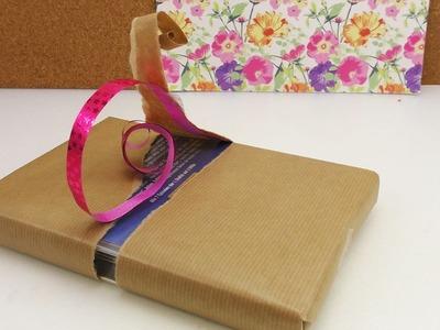 Geschenke einpacken 3 coole Ideen | Tricks zum Geschenke verpacken | Weihnachten & Geburtstag | DIY