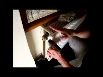 Heizungsventil wieder gängig machen - do it yourself