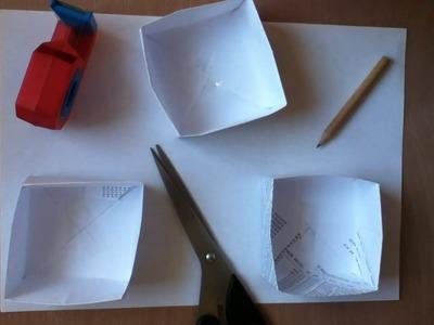 Kisten aus Papier basteln - eine Anleitung