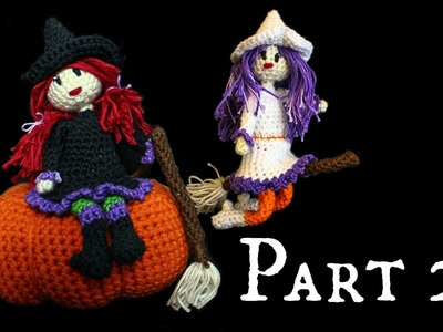 Kleine Hexe Häkel-Anleitung DIY *Halloween* Part 2