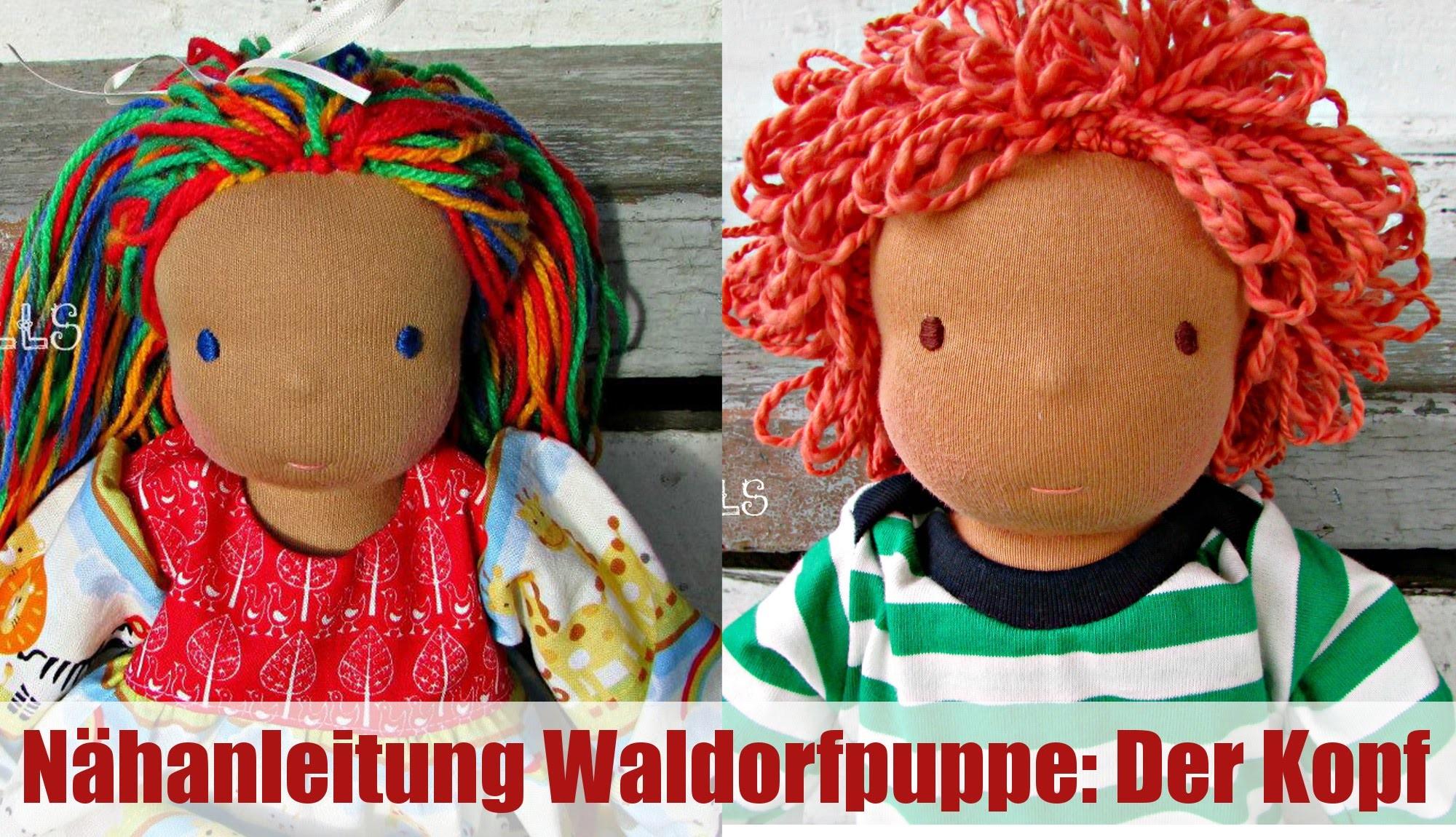Nähanleitung Waldorfpuppe: Der Kopf | Klassisches Sami Doll Schnittmuster | Teil 1