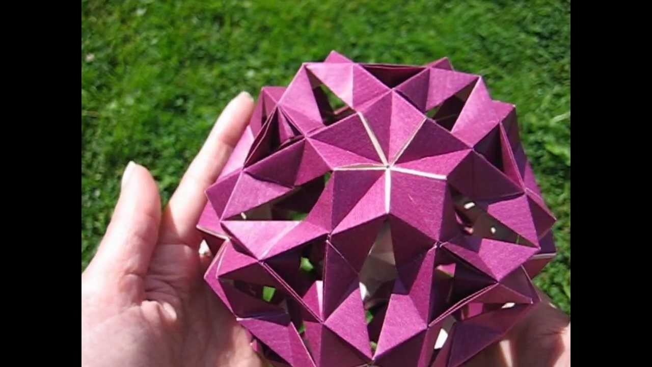Origami ❉ Money-Box ❉ Kusudama