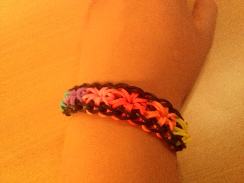 Rainbow Loom Sternen-Armband zum Selbermachen