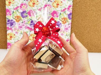 Schleife für Geschenke selber machen | einfach & schnelle Methode | Geschenke individuell verpacken