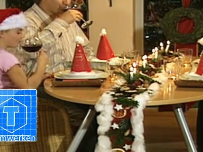 Tischdeko: Festtafel | DIY | ToolTown