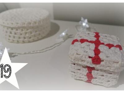 Türchen 19| Geschenkbox aus Wolle| biggihäkelt