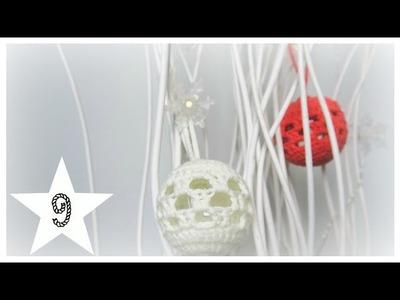 Türchen 9| Weihnachtskugel| biggihäkelt
